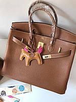 Роскошная женская сумка Гермес Birkin 35 см