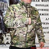 Куртка - подстежка Camo-Tec термофлис Мультикам, фото 3