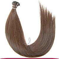 Детские Волосы на Капсулах 42 см 100 грамм, Шоколад №04У
