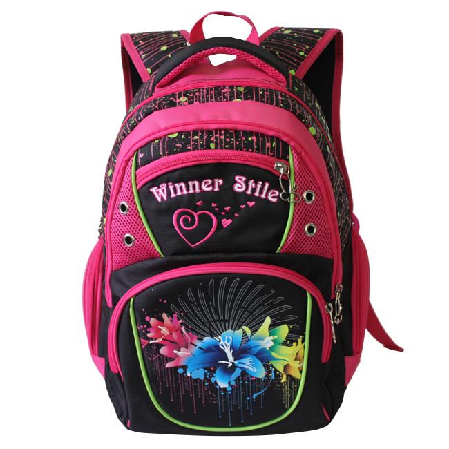 92625a6e9445 Удобный школьный рюкзак для девочки 153 - Одежда ТМ