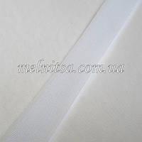 Лента-липучка, 2 см, цвет белый, 50 см