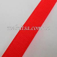 Лента-липучка, 2 см, цвет красный, 50 см