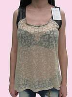 Женская блуза 1551 бежевый