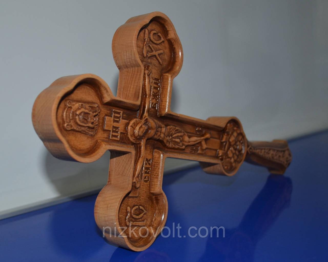Православний хрест з ручкою (190х395х36)