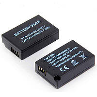 Аккумулятор LP-E17 для фотоаппаратов CANON 77D, 750D, 760D, 800D, 200D, EOS M3, M6 Rebel T6s - аналог 1040 ma