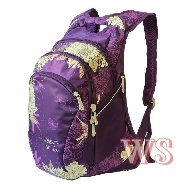 Яркий школльный рюкзак для девушки обзор велорюкзаков 2011