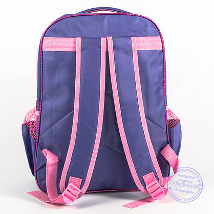 Школьный рюкзак для девочек с бабочкой - сиреневый - 151, фото 2