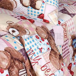 Постельное белье Мой медвежонок бязь ТМ Царский дом в кроватку, фото 2