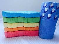 Яркие банные полотенца