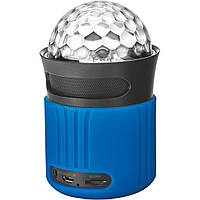 Портативные колонки Trust Dixxo Go Wireless Bluetooth Speaker with party lights blue 21347