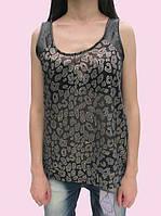Женская блуза 1551 т. синий