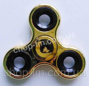 Спиннер / вертушка - антистресс металлический золотистый, фото 2