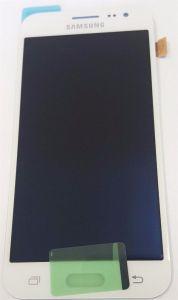 Дисплей с тачскрином Samsung J200H Galaxy J2 Duos белый (HQ)