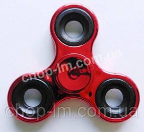 Спиннер / вертушка - антистресс металлический красный, фото 2