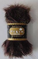 "Пряжа Peria Foxy Fur ""007"" ""Лисичка"" для Ручного Вязания"