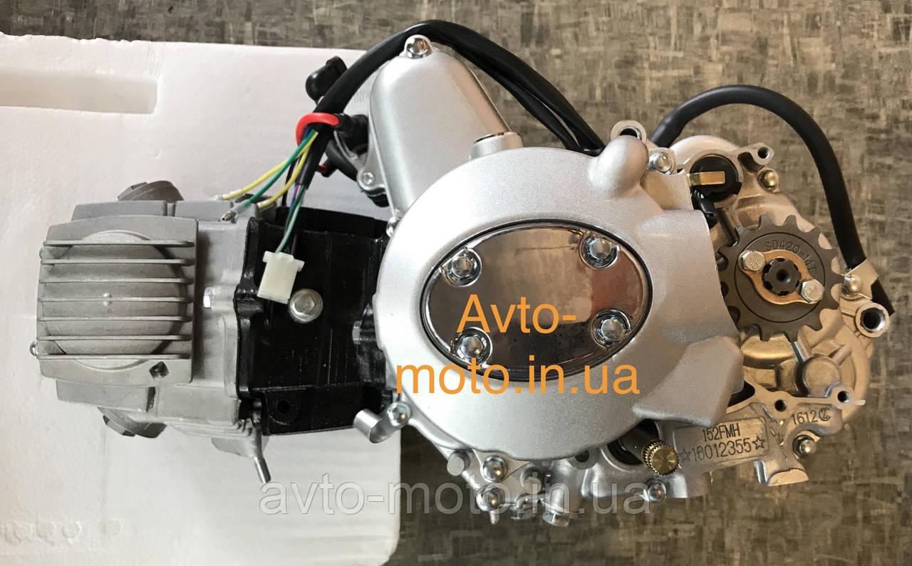Двигатель мопед Дельта,Альфа 110 см3 механика (слон)