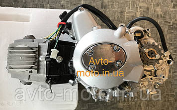 Двигун мопед Дельта,Альфа 110 см3 механіка (слон)