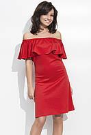 Платье Волан! Приталенное 40-42, 44, 46, фото 2