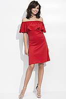 Платье Волан! Приталенное 40-42, 44, 46, фото 3