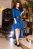 Изящное платье ассиметрия