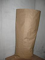 Мешки бумажные 50*100*10 в три слоя, в буром крафте, с вкладышем, на 25кг продукции