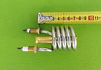 Тэн-нагреватель нержавейка 2,2kW/ 220V/ штуцер Ø10мм (спиралевидный) для проточных смесителей-водонагревателей