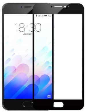 Защитное стекло для Meizu M8c цветное Full Screen