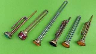 2) ТЭНы и фланцы для бойлеров, ЭВН (электроводонагревателей)