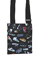 Месенджер\мессенджер (сумка на плече) - Urbanplanet - M4 Sneakerhead black