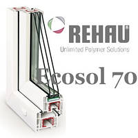 Окна Rehau Ecosol 70