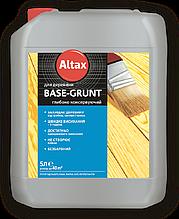 BASE-GRUNT 5л - для древесины глубоко консервирующее