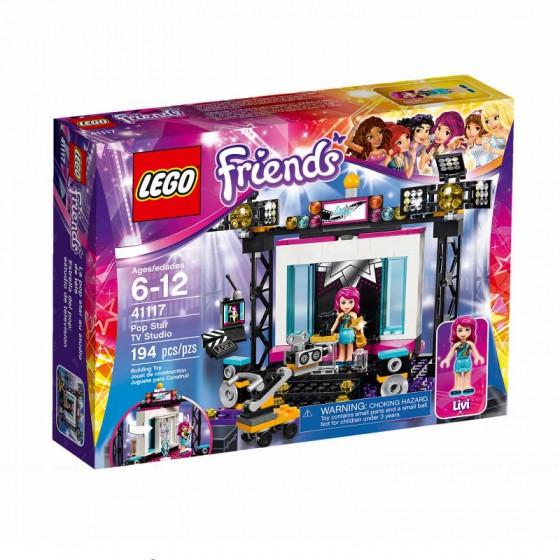 Lego Friends Поп-звезда: телестудия 41117