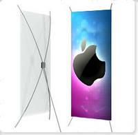 Мобильный стенд X-Banner 80x180 см, фото 1