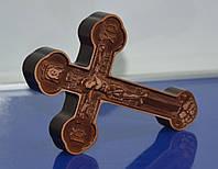 Крест настенный резной из дерева