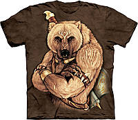 3D футболка мужская The Mountain р. 50-52 RU футболки 3д (Медведь Воин)