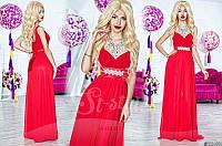 Выпускное нарядное платье в пол 009