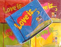 Жевательная резинка Love is  100 шт в ассортименте