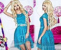 Женское нарядное гипюровое платье 165, фото 1