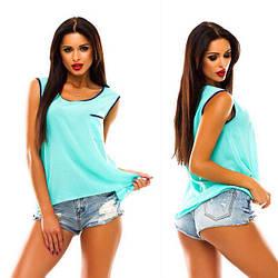 Майка - блузка «Оливия» 40-48 цена 95грн., фото 2