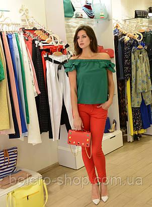 Брендовые женские штаны летние Италия, фото 2