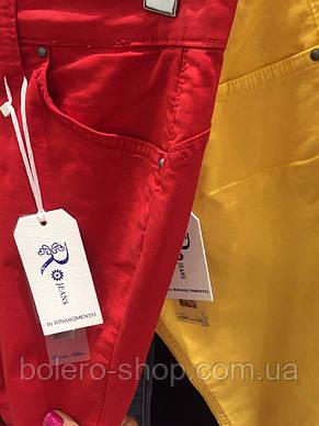 Брендовые женские штаны летние Италия, фото 3