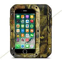 Чехол противоударный LOVE MEI Camouflage для Apple iPhone 7 Plus 5.5 Jungle