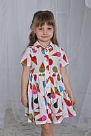 Платье для девочки Мороженки