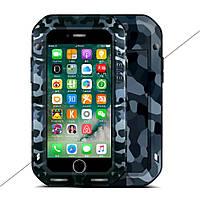 Чехол противоударный LOVE MEI Camouflage для Apple iPhone 7 Plus 5.5 City