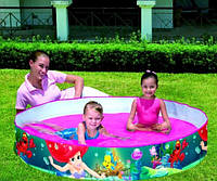Детский каркасный бассейн BestWay принцесса диснея ариэль 152*25 см