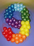 Цифра 9 из шаров латексных.