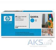 Картридж HP 124A для CLJ 1600/2600 (Q6001A) Cyan