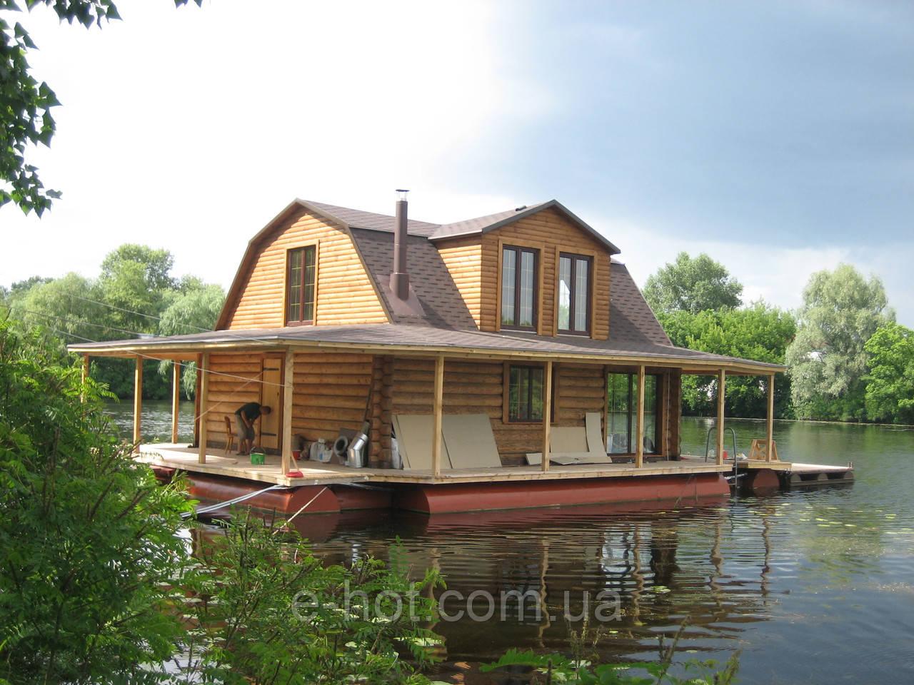 Строительство дома, Дом на воде