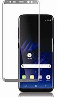 Защитное стекло 3D для Samsung Galaxy S8 G950 цветное