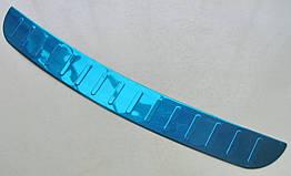 Hyundai Elantra MD 2012+ накладка на задний бампер HYUNDAI Хендай Хундай Elantra MD 2012+ защитная тонкая